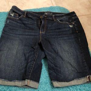 Apt. 9 Denim Bermuda shorts